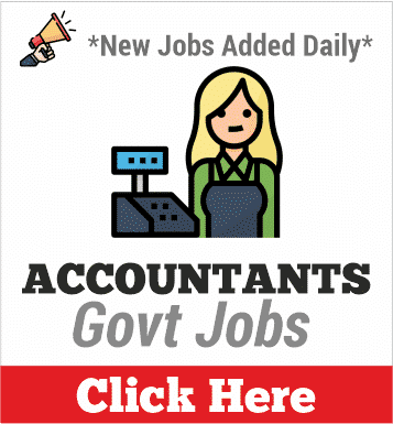 accountants govt jobs