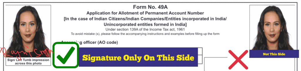 instructions for fillable form 49a after printing